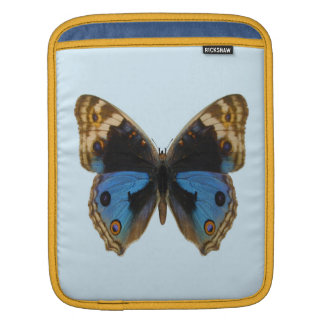 Blue Pansy Butterfly Sleeve For iPads