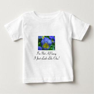 Blue Pansy T Shirt