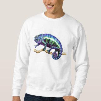 Blue Panther Chameleon Men's Sweatshirt