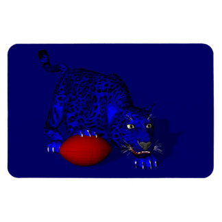 Blue Panther Magnet