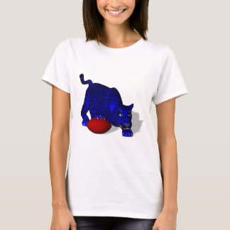 Blue Panther Mascot T-Shirt