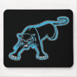 Blue Panther Mouse Pad Mouse Pads