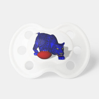 Blue Panther With Football Pacifier