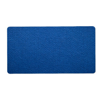 Blue Paper Texture For Background Label