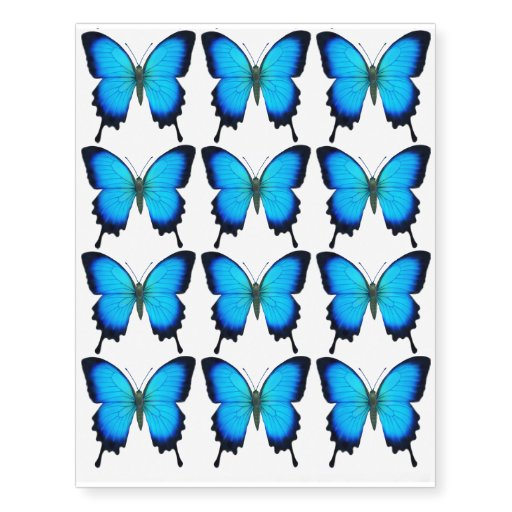 Blue Papilio Ul... Ulysses Butterfly Tattoo