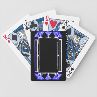 blue papyrus bicycle playing cards