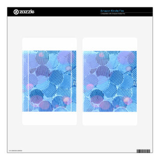 Blue Paradise Skin For Kindle Fire