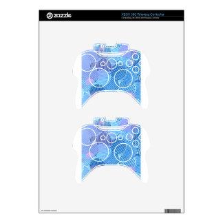 Blue Paradise Xbox 360 Controller Decal