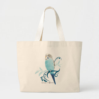 Blue Parakeet Bag