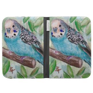 Blue Parakeet Kindle Cover