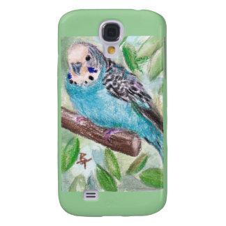 Blue Parakeet IPhone 3 Case