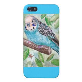 Blue Parakeet IPhone 4 Case