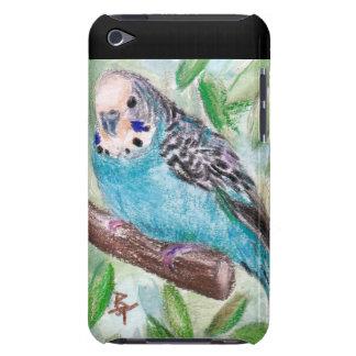 Blue Parakeet IPod Touch Case
