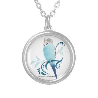 Blue Parakeet Necklaces