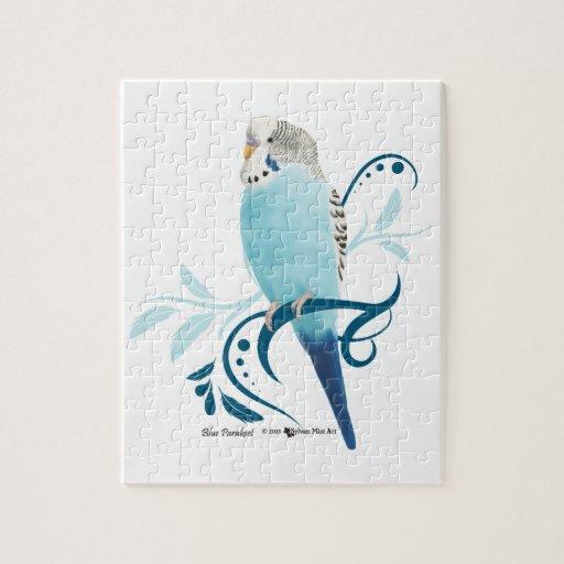 Blue Parakeet Puzzle