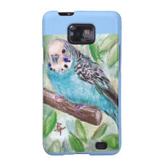 Blue Parakeet Samsung Galaxy Case Samsung Galaxy S2 Cover