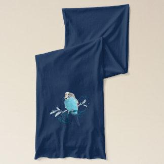 Blue Parakeet Scarf