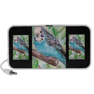 Blue Parakeet Speaker