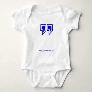 Blue Parenthesis Baby Bodysuit