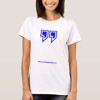 Blue Parenthesis T-Shirt