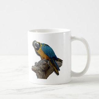 Blue Parrot alone mug