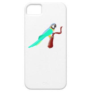Blue Parrot iPhone 5 Case