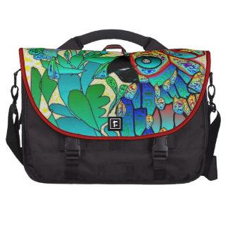Blue Parrot - Rickshaw Commuter Laptop Bag
