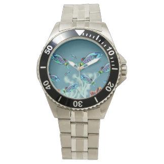 Blue Parrotfish Wrist Watch