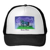 Blue Paso Fino Horse hat