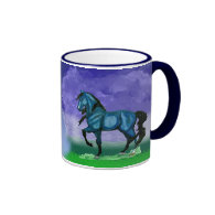 Blue Paso Fino Horse Mug