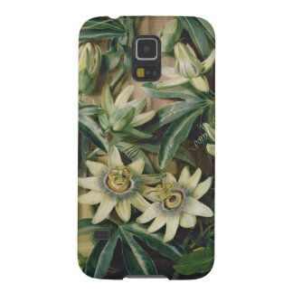 Blue Passion Flower for the 'Temple of Flora' by R Galaxy S5 Cases