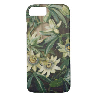 Blue Passion Flower for the 'Temple of Flora' by R iPhone 7 Case