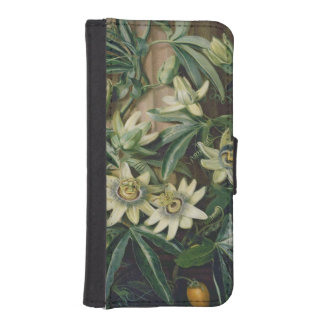 Blue Passion Flower for the 'Temple of Flora' by R iPhone SE/5/5s Wallet Case