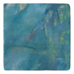 Blue Pastel -Autistic Artist Trivet