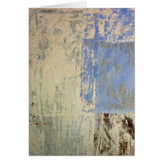 Blue Patch Greeting Cards
