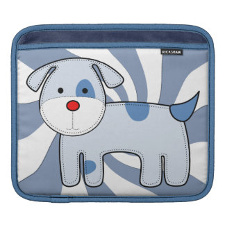 Blue Patch Puppy iPad Rickshaw Sleeve