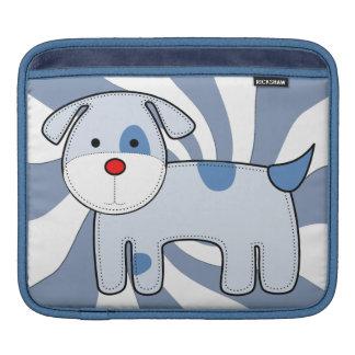 Blue Patch Puppy iPad Rickshaw Sleeve Sleeve For iPads