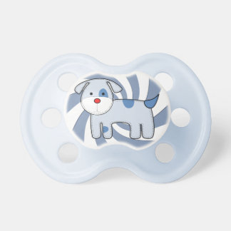 Blue Patch Puppy Pacifier