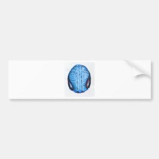 Blue Pattern 2 Bumper Sticker