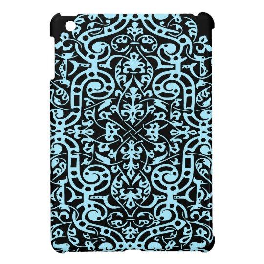 Blue Pattern Abstract Design ipad mini case