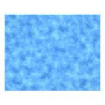 Blue Pattern. Custom Flyer