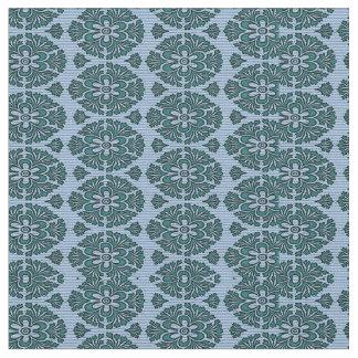 Blue Pattern Fabric