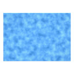 Blue Pattern. Personalized Invitation