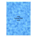 Blue Pattern. Personalized Invite