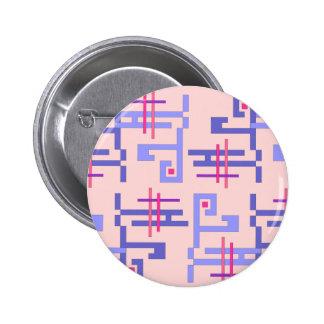 Blue Pattern Pins