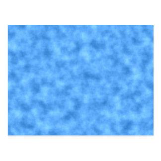 Blue Pattern. Postcard