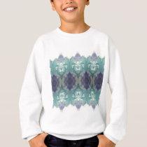 Blue Pattern Sweatshirt