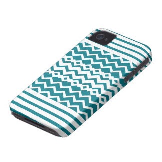 Blue Patters iPhone 4 Case-Mate Case