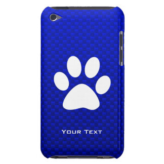 Blue Paw Print iPod Touch Covers