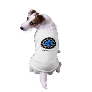 Blue Paw Therapy Dog Shirt